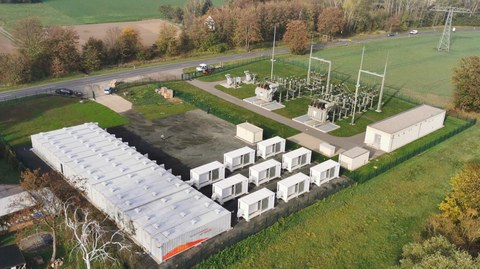 Third Large Upside Storage Power Plant with SMA Battery Inverters Commences Operation