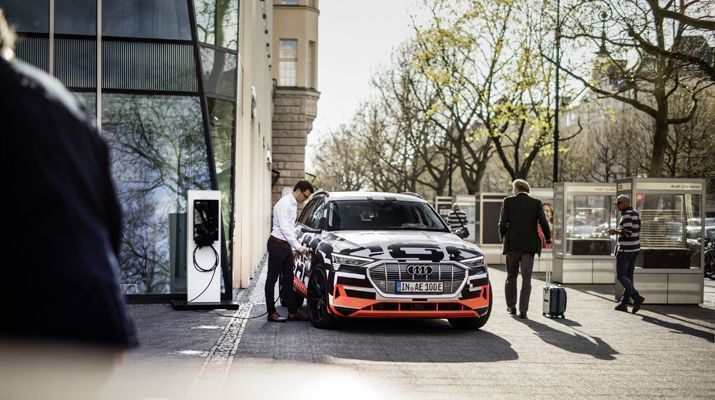 SMA Solar Technology AG and Audi Are Cooperating to Integrate E-mobility into Home Energy Management