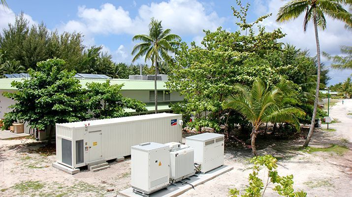 Sustainable Holiday Paradise: SMA System to Provide South Pacific Island With Solar Power