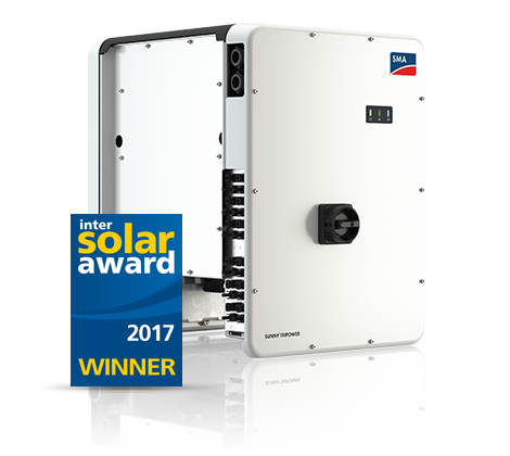 SUNNY TRIPOWER CORE1 - Intersolar Award Winner 2017