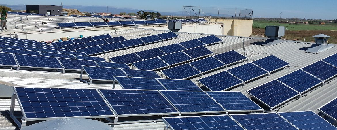 Commercial PV Power Plant - Almacelles, Spain