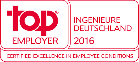 top Employer - Ingenieure Deutschland 2016